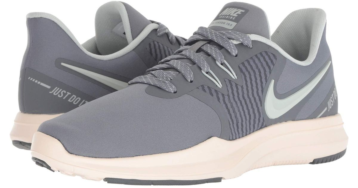 promo code a668f 5f60c Nike In-season Tr 8 (barely Grey/ember Glow) Cross Training Shoes in Gray -  Save 34% - Lyst