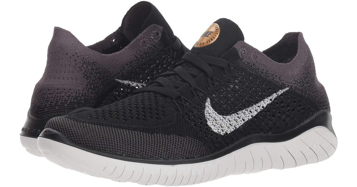 quality design 30ea8 beec1 Lyst - Nike Free Rn Flyknit (blackvast Greymetallic Gold) Womens Shoes  in Black