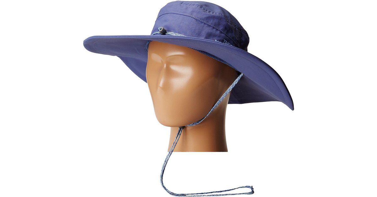 Lyst - The North Face Horizon Brimmer Hat in Blue 0845438a34b8