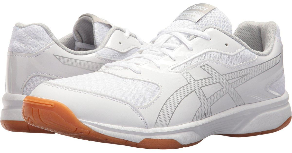 4b15b319d5188 Asics Gel-upcourt 2 (white/silver) Volleyball Shoes in White for Men - Save  11% - Lyst