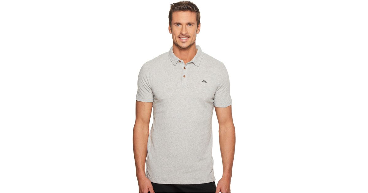 00bed57cd3 Lyst - Quiksilver New Everyday Sun Cruise Polo in Gray for Men