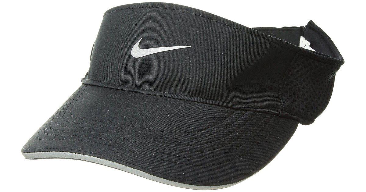 6de922449 Nike - Black Elite Adjustable Aerobill Visor for Men - Lyst