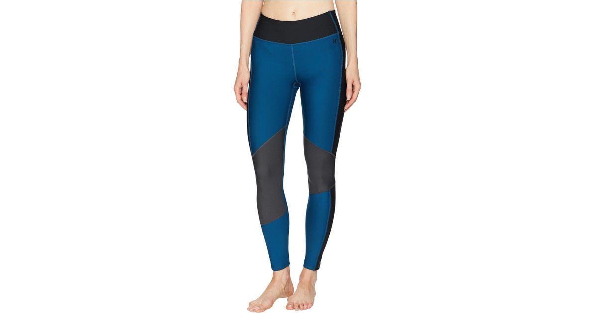 3692a8b0495161 Hurley Surf Street Ready Leggings (blue Force) Swimwear in Blue - Save 35%  - Lyst