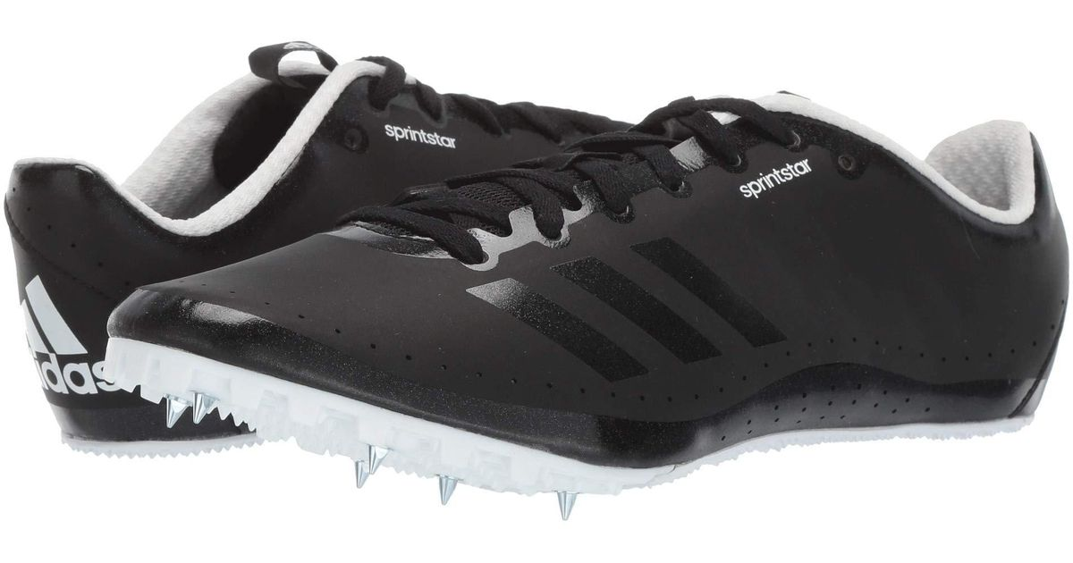 new style 65686 d8d44 Lyst - adidas Originals Sprintstar Spikes (footwear White core Black shock  Red) Men s Shoes in Black for Men
