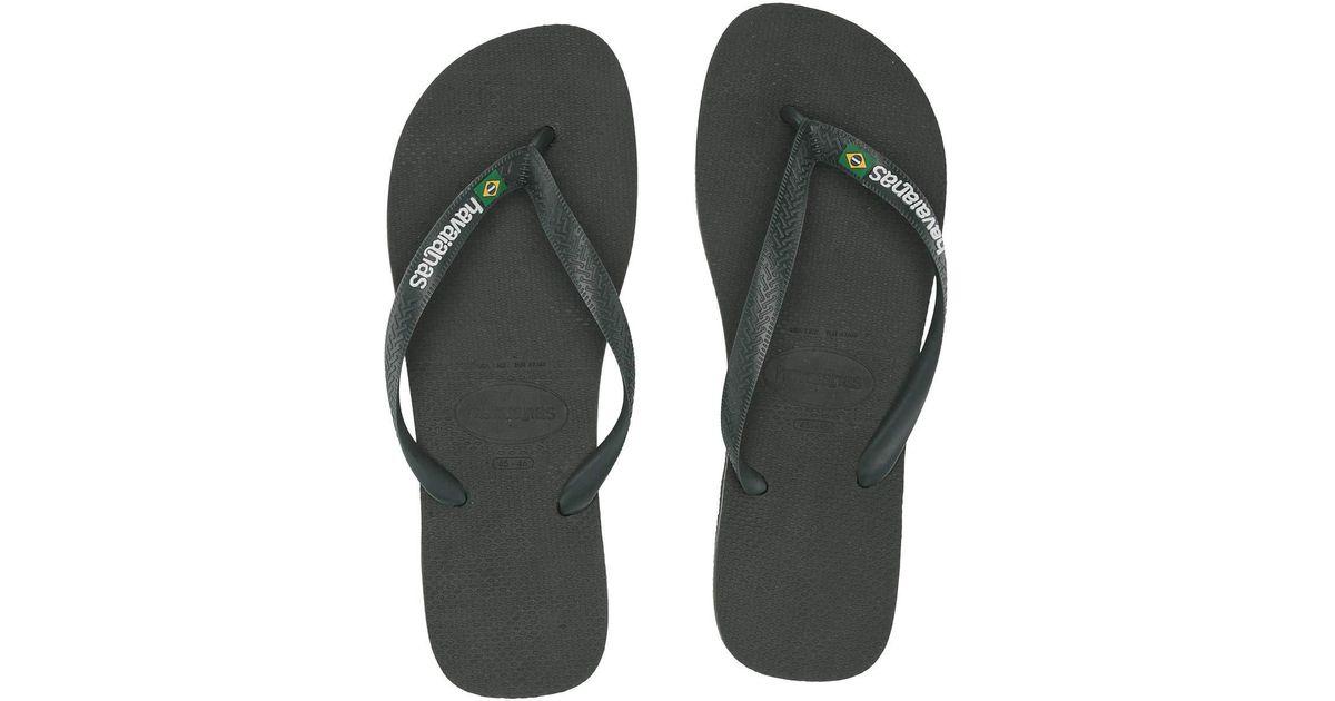 6f8dee04637 Lyst - Havaianas Brazil Logo Flip Flops (banana Yellow) Men s Sandals in  Green for Men