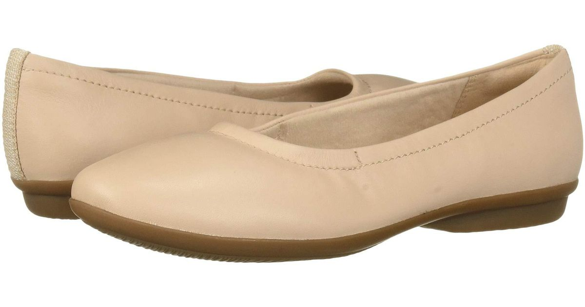 553f40a526a5e Clarks Gracelin Vail (black Leather) Women's Dress Flat Shoes in Natural -  Lyst