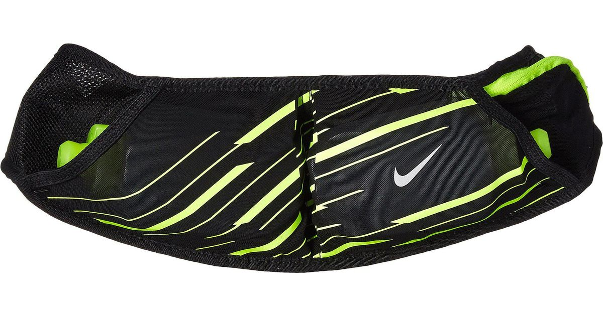 competitive price 98193 ec273 Nike Double Pocket Flask Belt 20oz (black volt silver) Athletic Sports  Equipment in Black for Men - Lyst