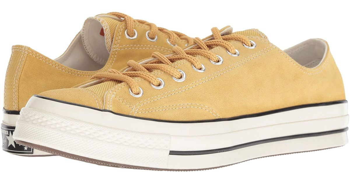 0e57189ee4e Lyst - Converse Chuck 70 Base Camp Suede - Ox (desert Marigold egret egret)  Lace Up Casual Shoes in Natural for Men