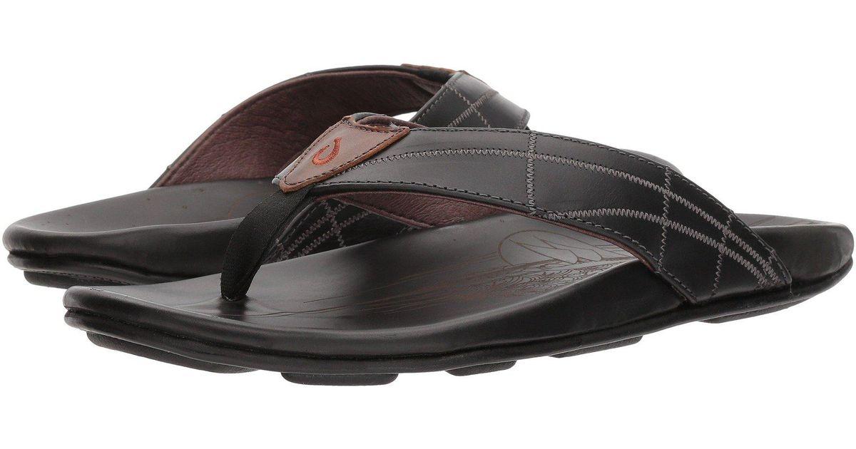 1c8d60669b0 Lyst - Olukai Hokule a Kia (tan tan) Men s Sandals in Black for Men