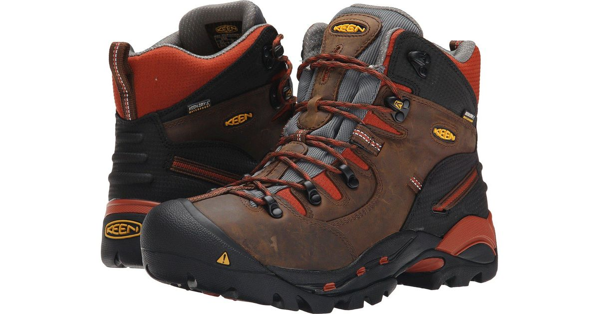 555d457a53f Keen Utility - Pittsburgh Soft Toe (cascade Brown/bombay Brown) Men's Work  Boots for Men - Lyst