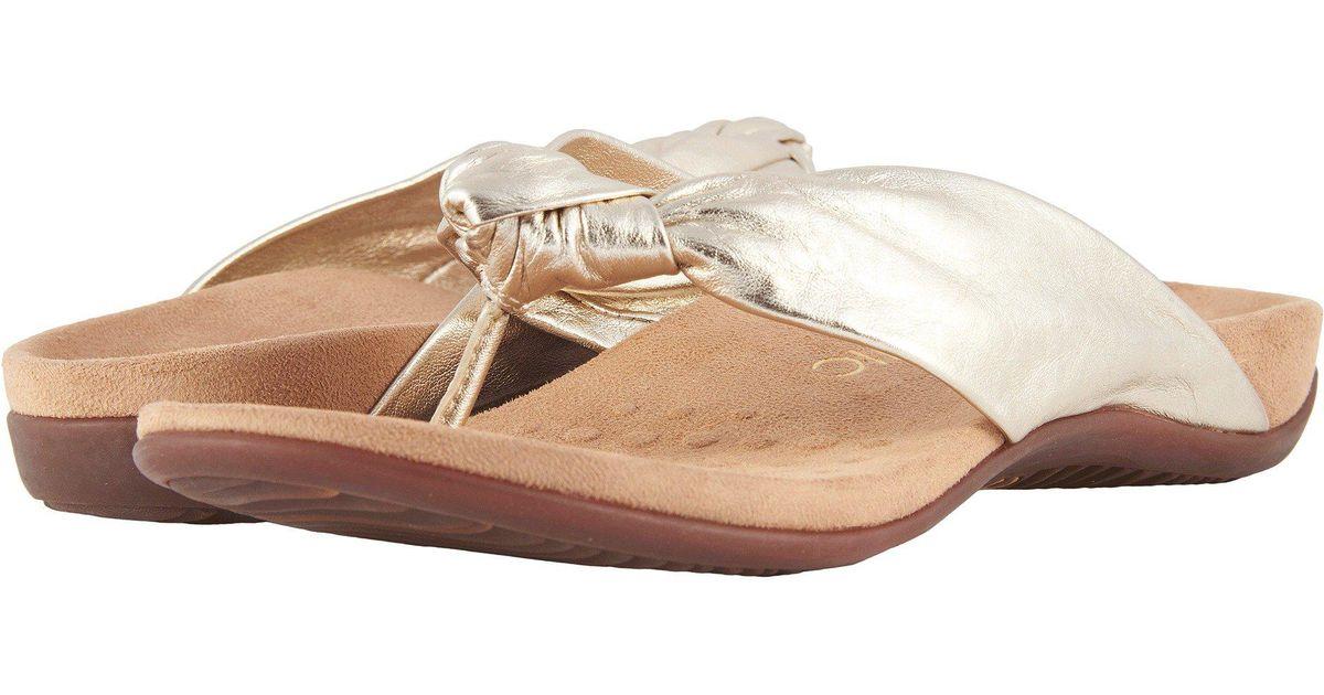 1a563ec164e8 Lyst - Vionic Pippa (rose Gold) Women s Sandals