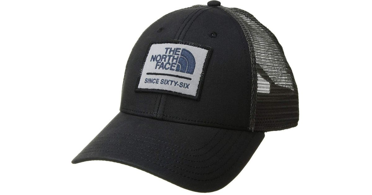 7bc12894 The North Face Patches Trucker Hat (vintage White/crystal Teal Multi) Caps  in Gray for Men - Lyst