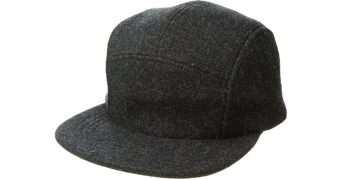6e708abea18 Lyst Filson 5 Panel Wool Cap In Gray For Men