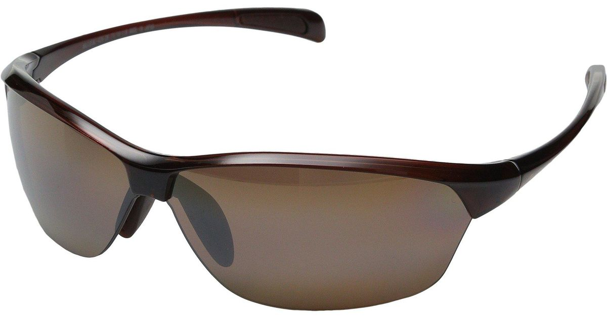 be29afef7c Lyst - Maui Jim Hot Sands (rootbeer/hcl Bronze) Plastic Frame Sport  Sunglasses in Red