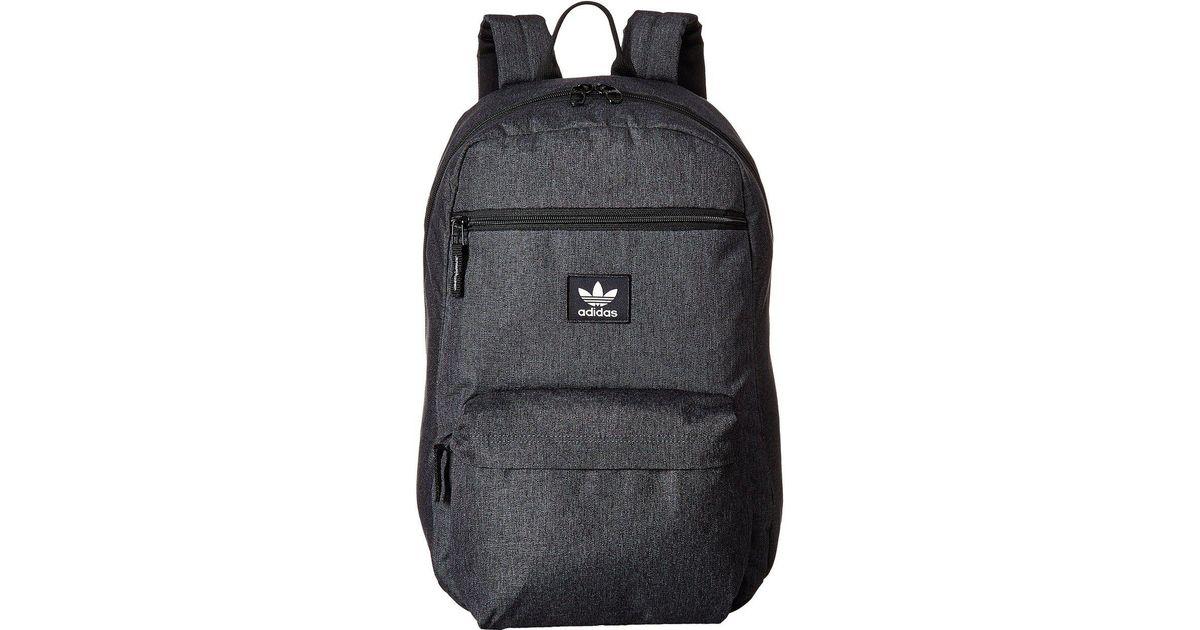 d46e177d14 Lyst - adidas Originals Originals National Plus Backpack in Black for Men