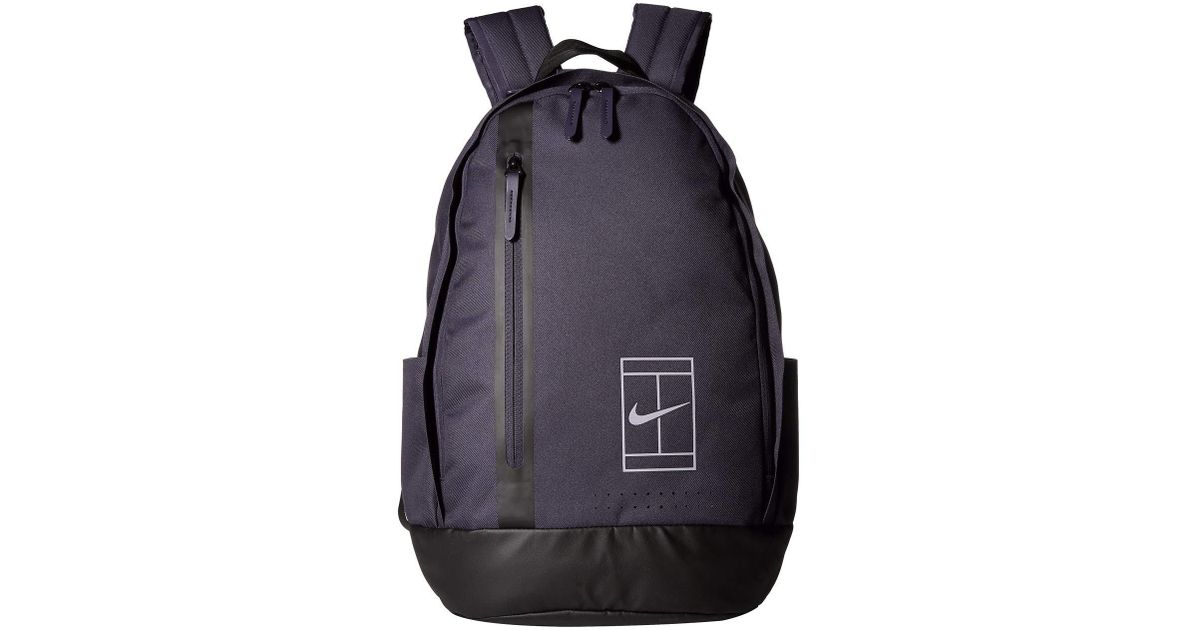 Lyst - Nike Court Advantage Tennis Backpack (black black anthracite) Backpack  Bags in Black for Men b0c1fd098fa15