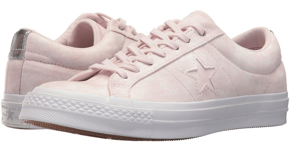 One Star® Peached Wash Ox Converse
