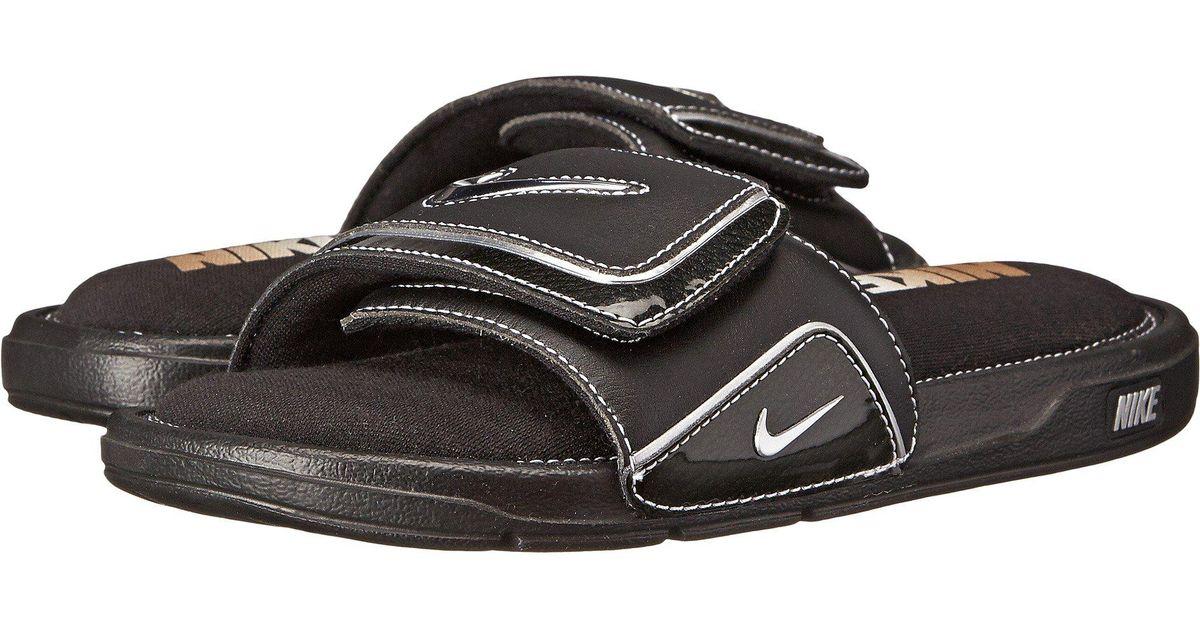 4587c8d3e Nike Comfort Slide 2 in Black for Men - Lyst
