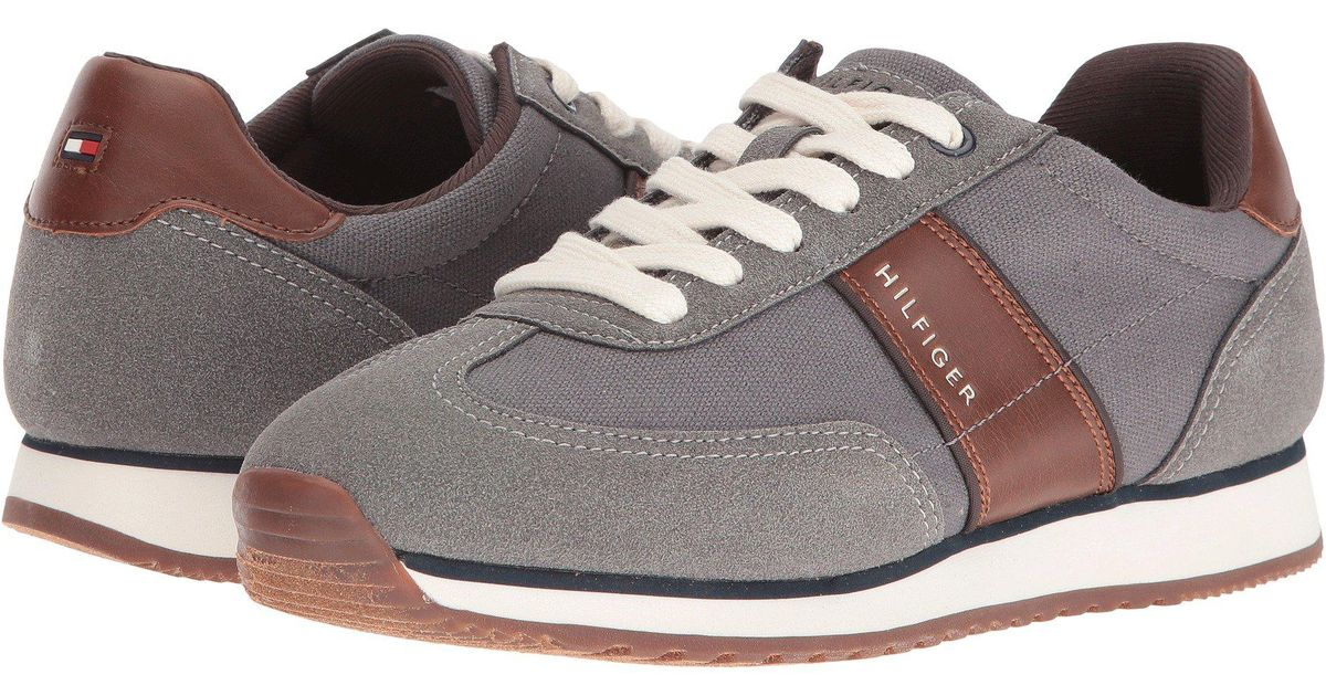 991150d4b10b Lyst - Tommy Hilfiger Modesto (grey) Men s Shoes in Gray for Men