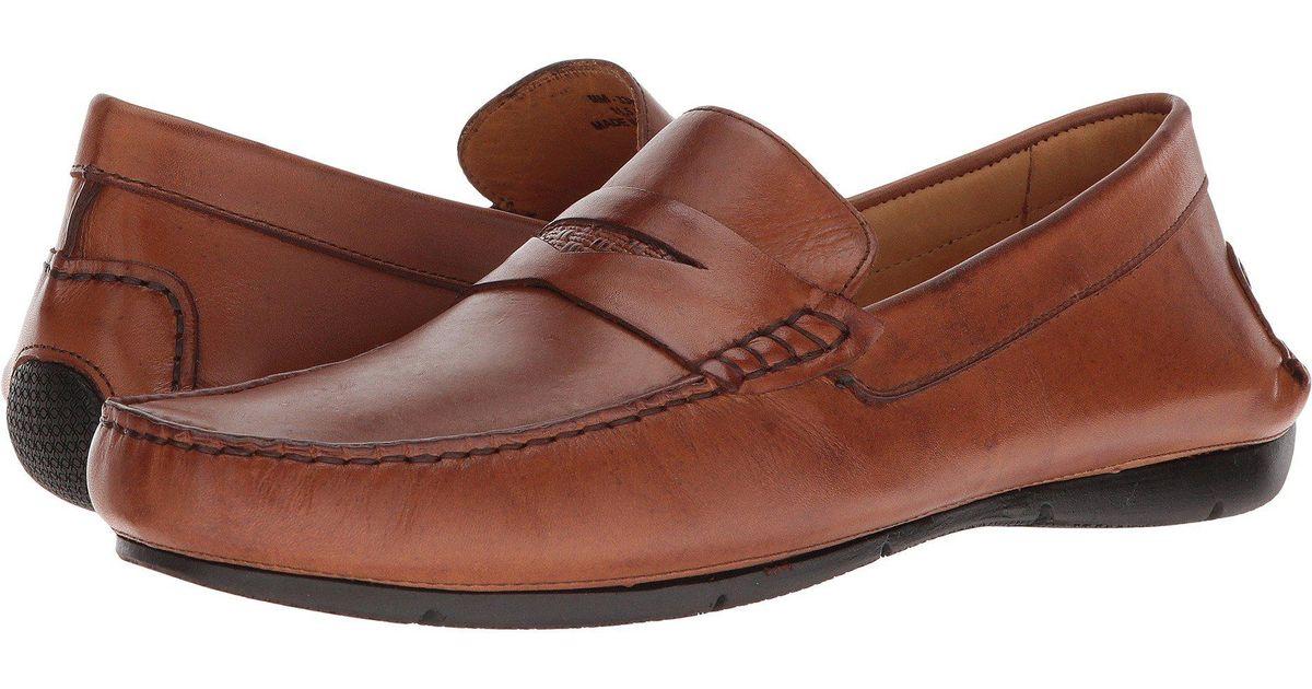 eeb938937727 Lyst - Massimo Matteo Penny Driver 18 (havana) Men s Slip On Shoes in Brown  for Men
