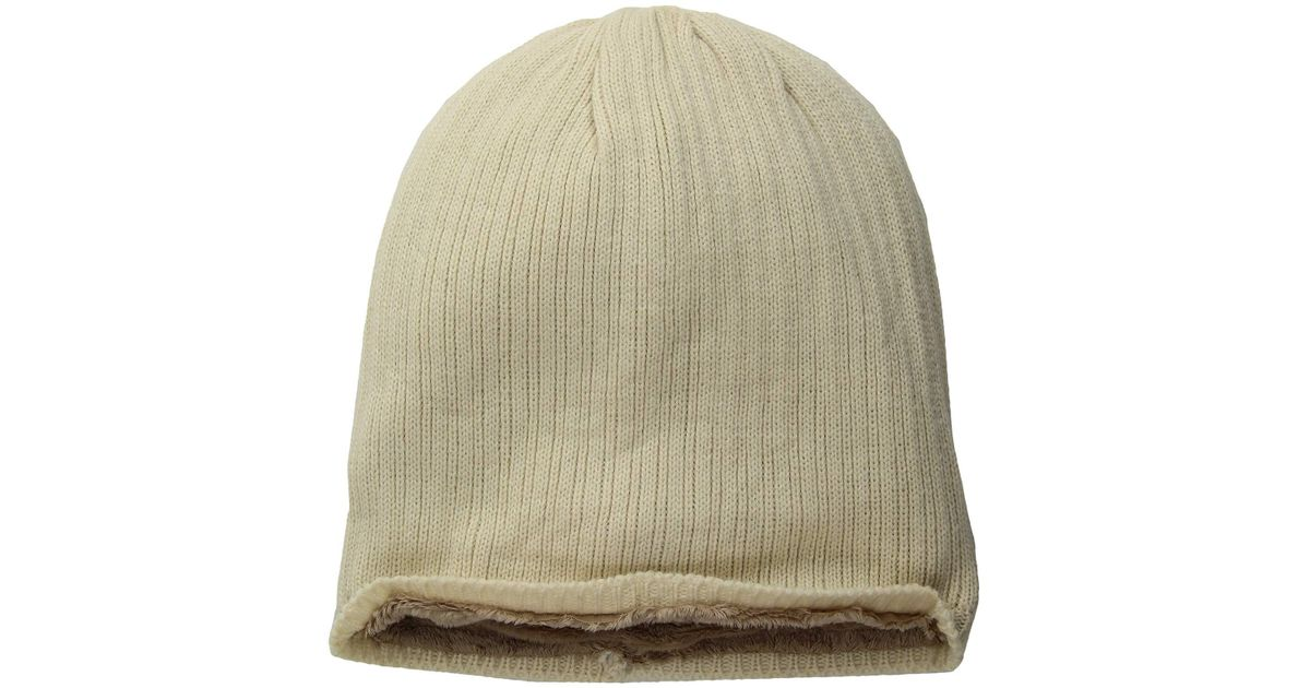 bbeff215462 Lyst - Hat Attack Rib Knit Cozy Beanie in Green - Save 23%