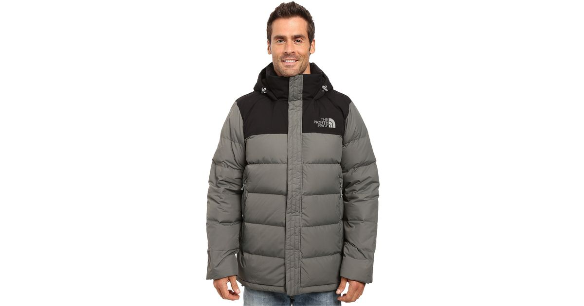 01bec8234b Lyst - The North Face Nuptse Ridge Parka in Gray for Men