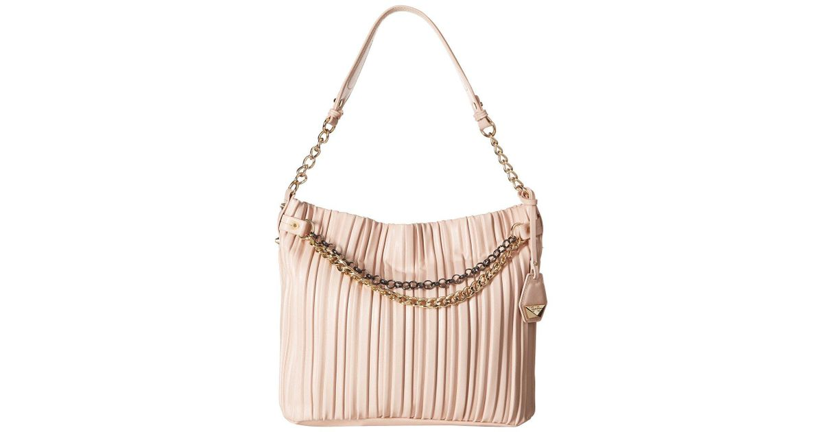 Lyst - Jessica Simpson Becca Hobo in Pink - Save 8% 65b947809b554