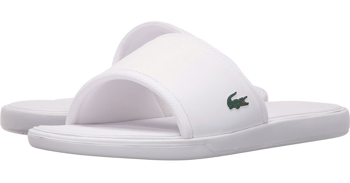 eff68761e Lyst - Lacoste L.30 Slide Sport Spm in White for Men