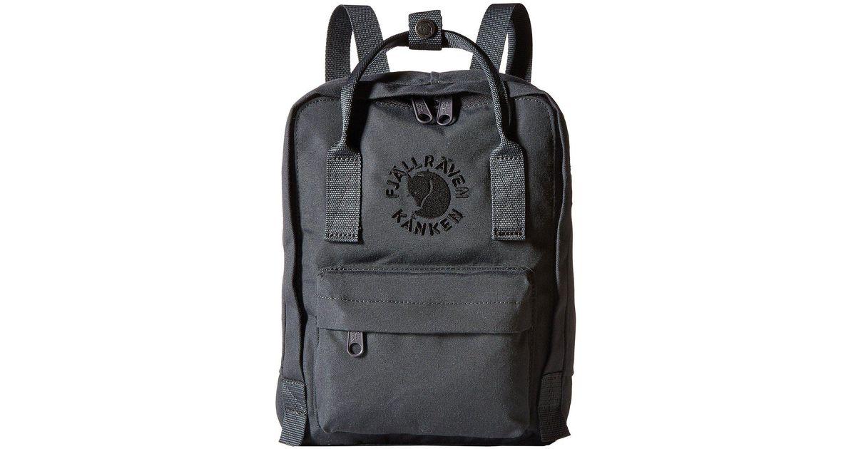 6e8b22271 Fjallraven Re-kanken Mini (emerald) Bags for Men - Lyst