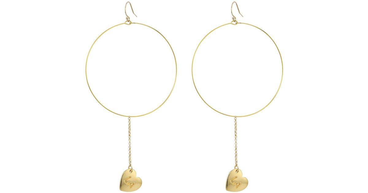 f676a9e18 Lyst - Vanessa Mooney The La Earrings in Metallic