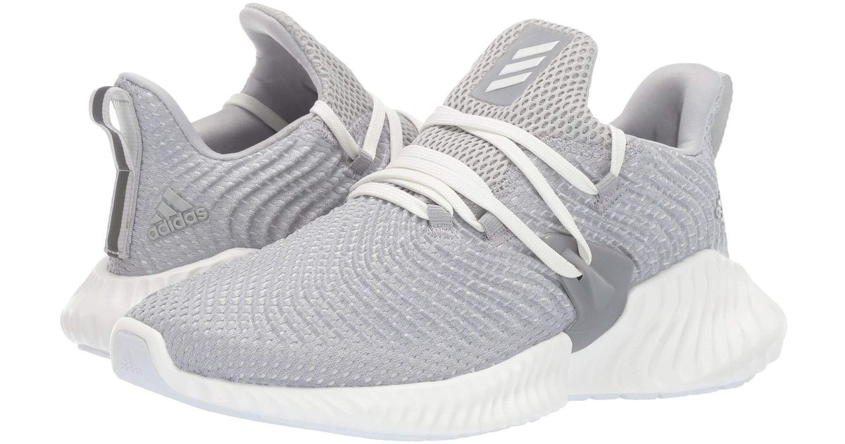 5b14baa752504 Lyst - adidas Originals Alphabounce Instinct (grey Two cloud White grey  Three) Women s Shoes in Gray