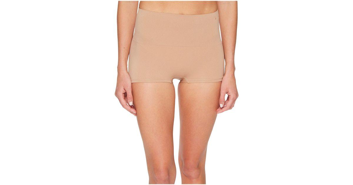 2229b8116d Lyst - Yummie Ultralight Seamless Shaping Girl Short (almond) Women s  Underwear