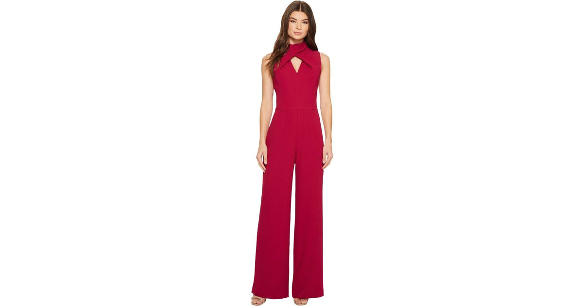 5aa728f215be Lyst - Trina Turk Contessa Jumpsuit in Red