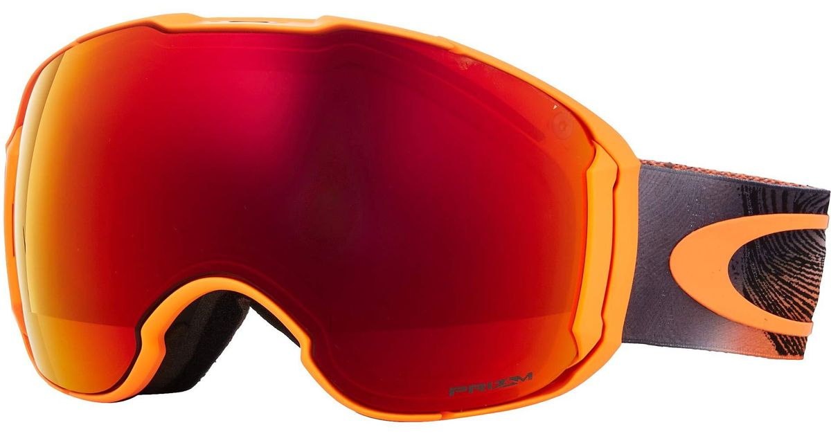 99bea3319f27 Lyst - Oakley Airbrake Xl (camo Vine Jungle W  Prizm Jade Iridium prizm  Rose) Goggles in Orange for Men