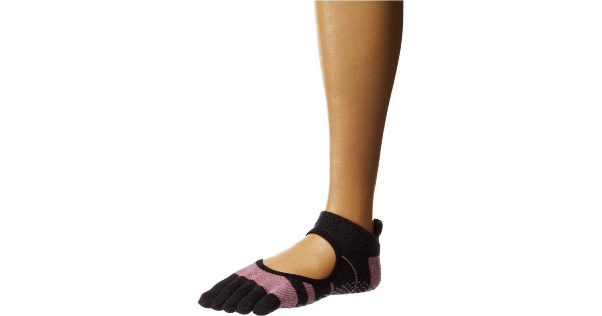 toesox Womens Mia Half Toe w//Grip