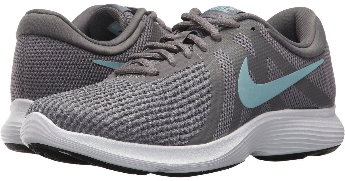 213a03f4c51f Lyst - Nike Revolution 4 (thunder Blue football Grey ashen Slate) Women s  Running Shoes in Gray
