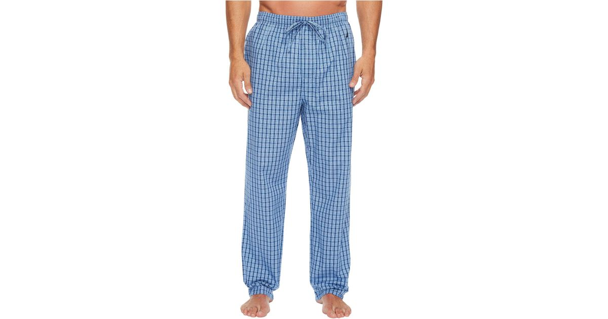 Lyst Nautica Plaid Sleep Pants Light French Blue Men S Pajama In For Save 25 641025641025635
