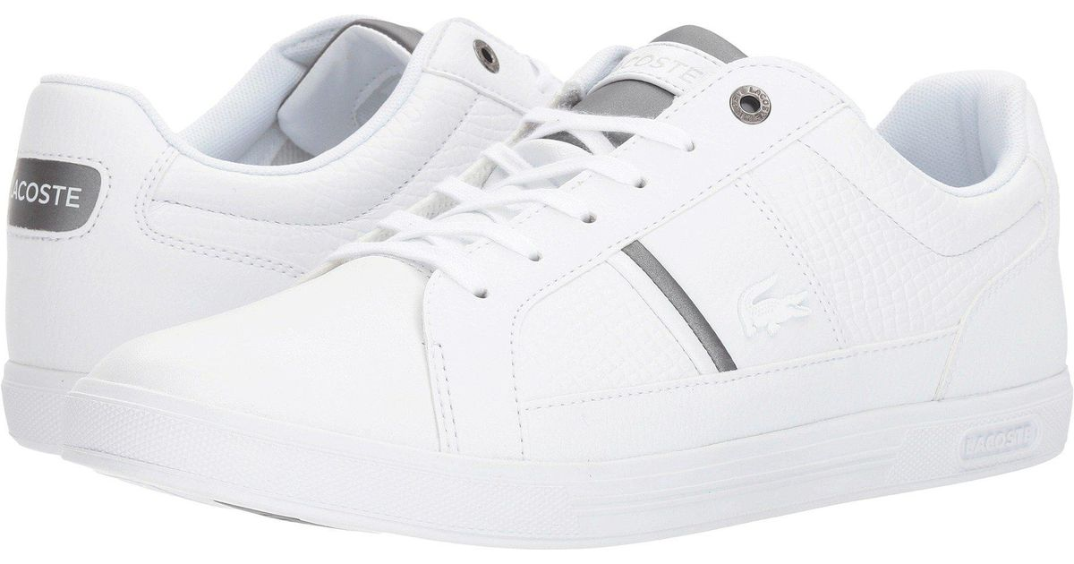 879079ec4 Lyst - Lacoste Europa 417 1 Sport (white) Men s Shoes in White for Men