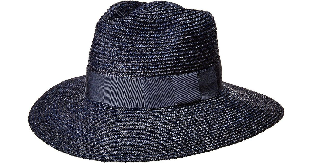 eab265cee202f7 Brixton Joanna Hat (washed Black/brown) Caps in Blue for Men - Lyst