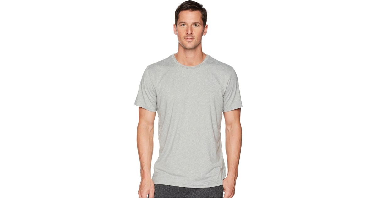 Lyst - Polo Ralph Lauren 2 20 Therma Sleep Short Sleeve Crew (cruise Navy nevis  Pony Print) Men s Pajama in Gray for Men eb45b237acc