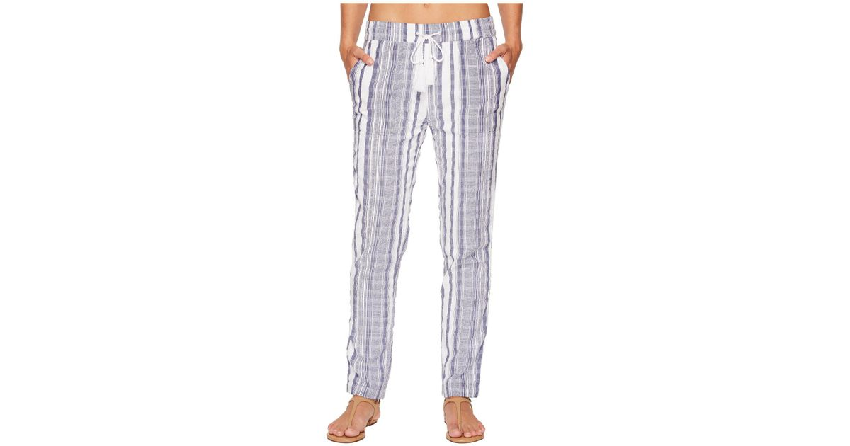 456e1e8113 Tommy Bahama Yarn Dye Stripe Beach Jogger Bottom Cover-up in White - Lyst