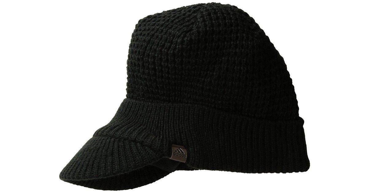 c1d2bdf571a05 Lyst - adidas Griggs Brimmer (black) Beanies in Black for Men