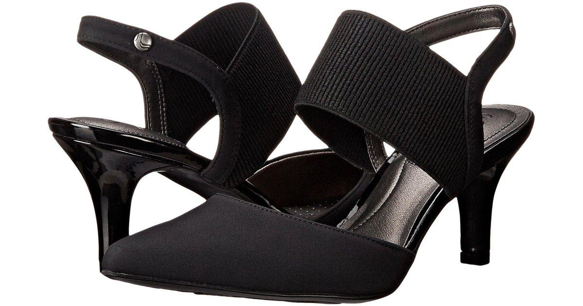 684039a3c53 Lyst - LifeStride Solace (black Regal) High Heels in Black