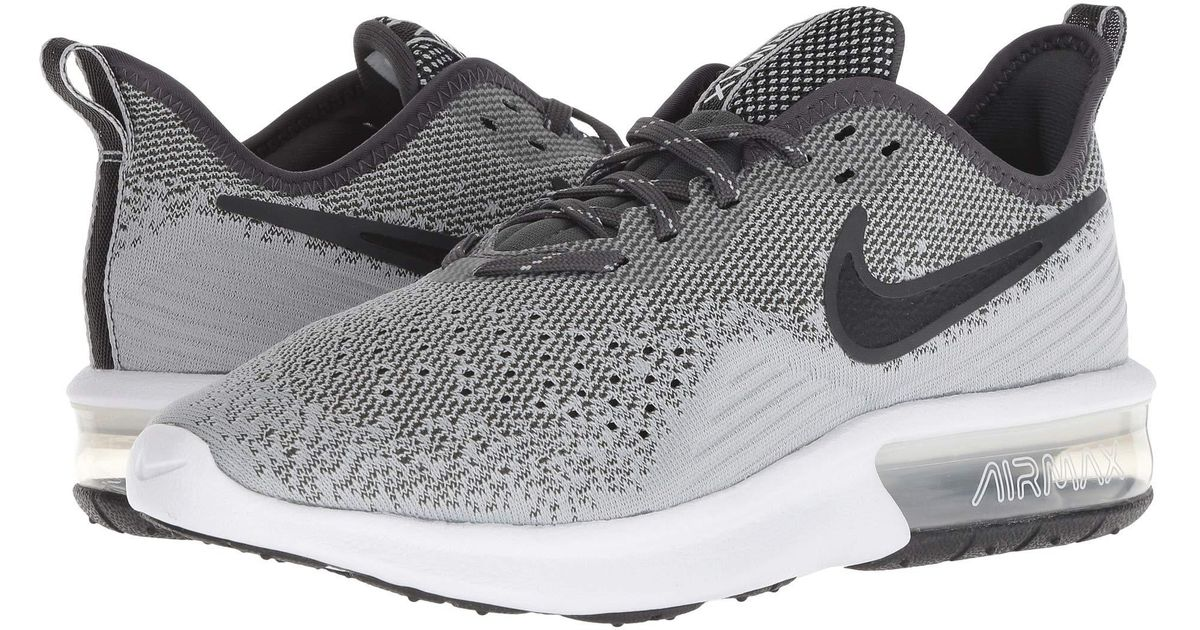 brand new 578c5 ce9a0 Lyst - Nike Air Max Sequent 4 (black black white) Women s Running Shoes in  Black