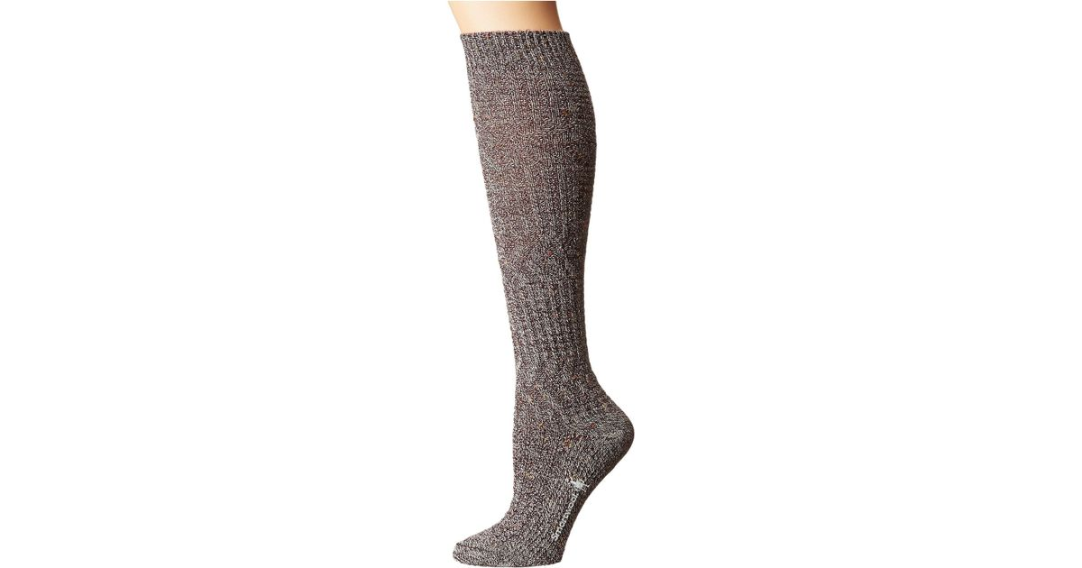 9c3db3c16 Lyst - Smartwool Wheat Fields Knee Highs (bordeaux Heather) Women s Knee  High Socks Shoes in Brown