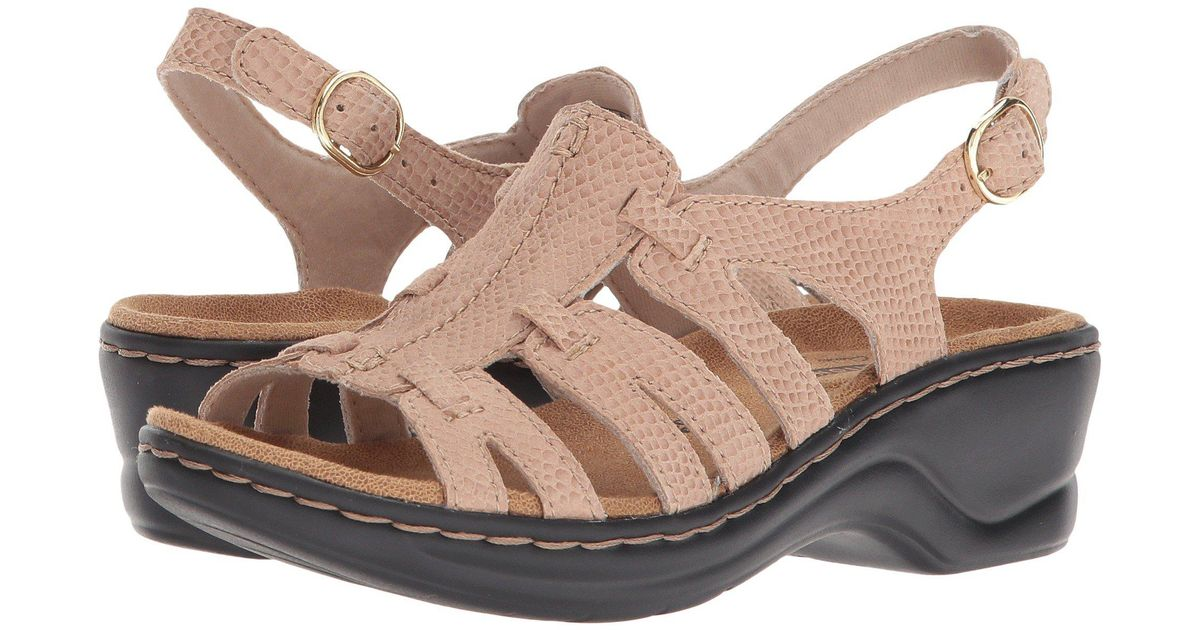 340be036f08 Lyst - Clarks Lexi Marigold Q (pewter Leather) Women s Sandals