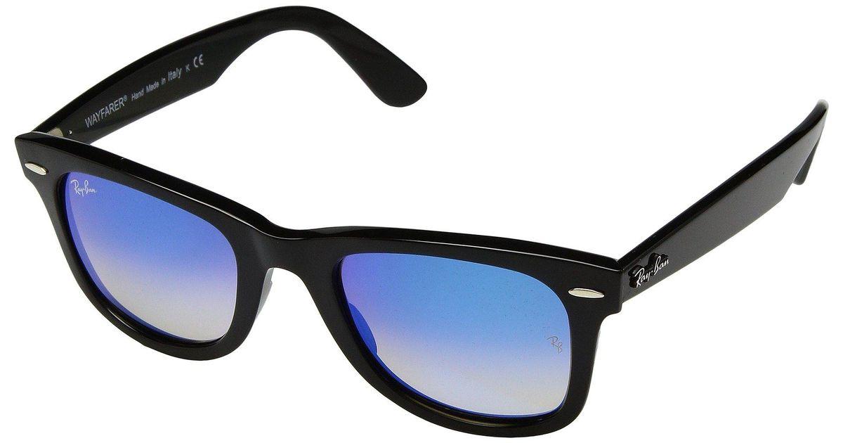 b286dabcbb Lyst - Ray-Ban Wayfarer Ease Rb4340 50mm (black polarized Green Classic G-15)  Fashion Sunglasses in Black for Men