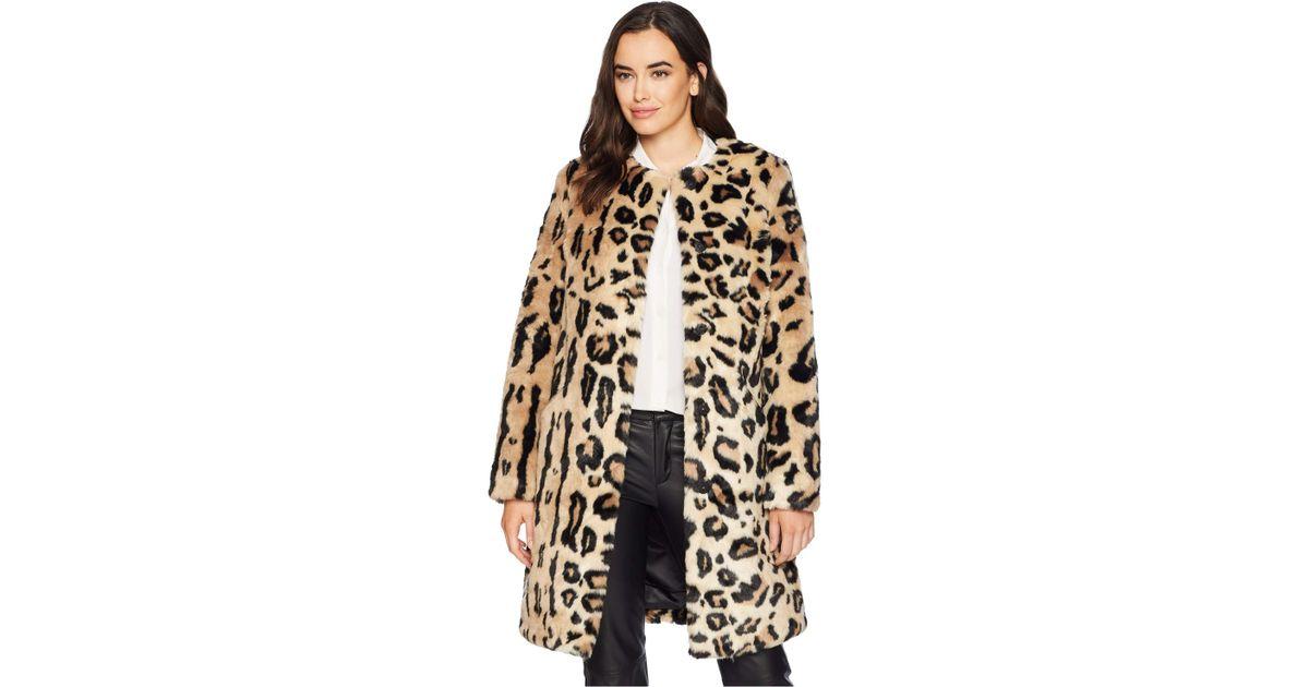 f4fcd2705a2d UGG Lisabeth Faux Fur Coat (leopard) Women's Coat in Brown - Lyst