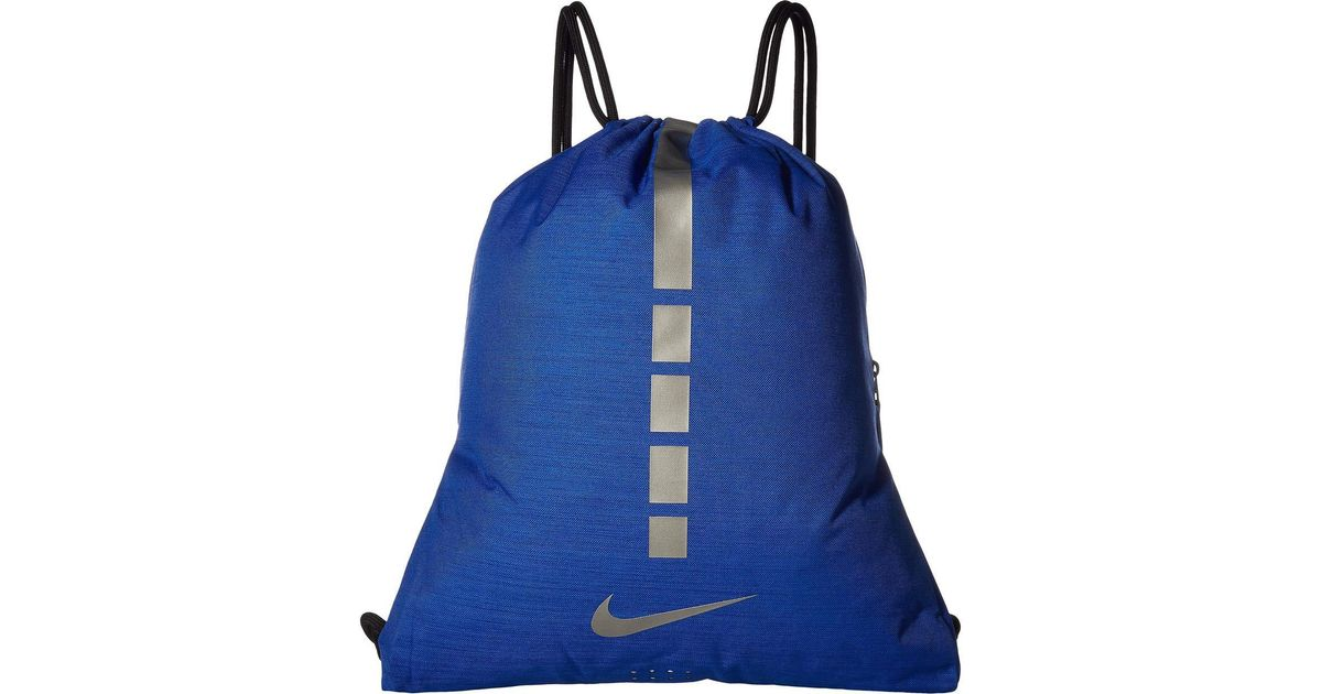 ea5c66bf655 Lyst - Nike Hoops Elite Gymsack - 2.0 (university Red black metallic Cool  Grey) Backpack Bags in Blue for Men