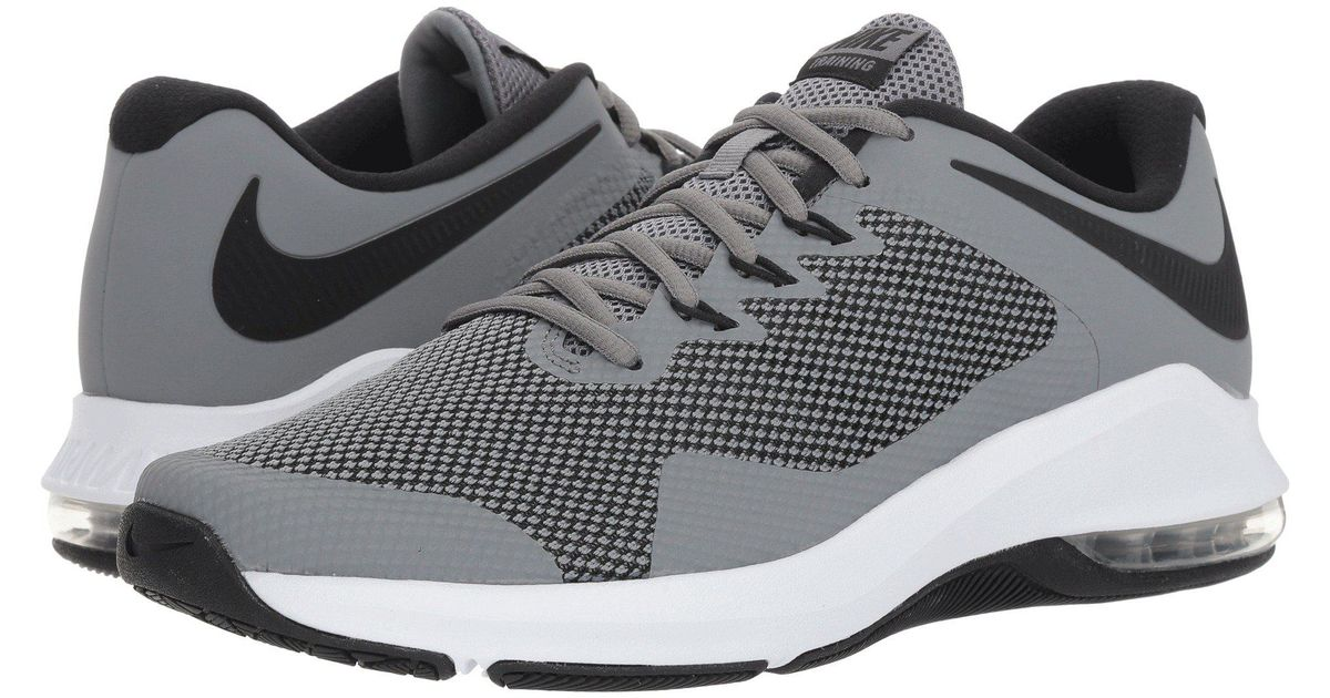 08b64a3c18ec Lyst - Nike Air Max Alpha Trainer (black white) Men s Cross Training Shoes  in Gray for Men - Save 14%